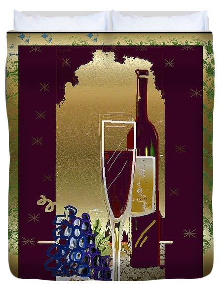 Vin Pour Une Duvet Cover
