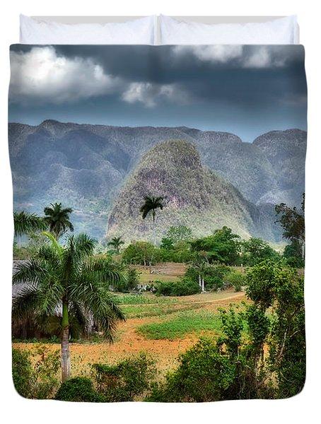 Vinales. Pinar Del Rio. Cuba Duvet Cover