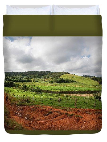 Vinales Valley Duvet Cover