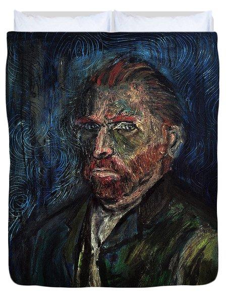 Vincent Van Gogh    Duvet Cover by Antonio Ortiz