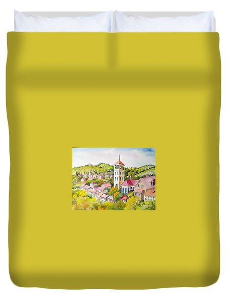 Vine Country Duvet Cover by Charles Hetenyi