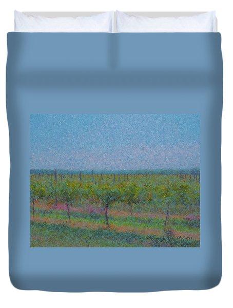 Vines In The Sun Duvet Cover