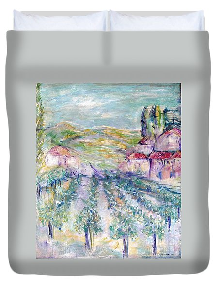 Vineyard Duvet Cover