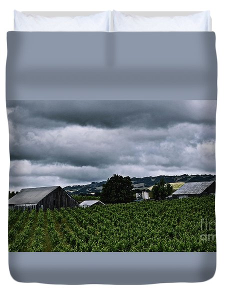 Vineyards Duvet Cover