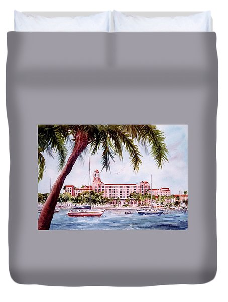 Vinoy View Duvet Cover