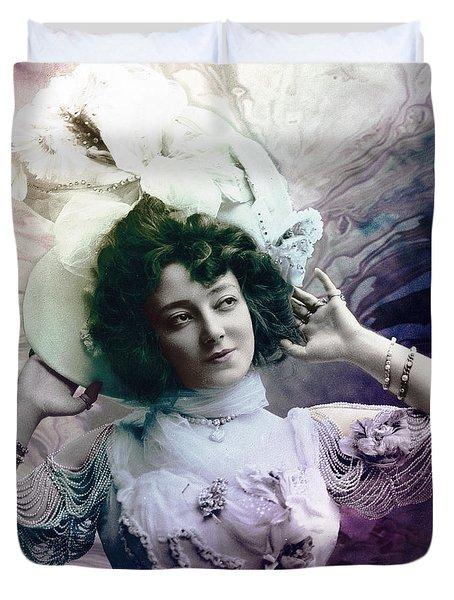 Vintage 1900 Fashion Duvet Cover