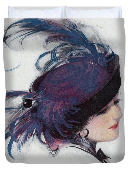 Vintage 1914 Fashion Duvet Cover