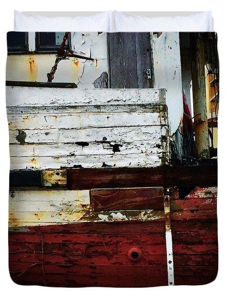 Vintage Astoria Ship Duvet Cover