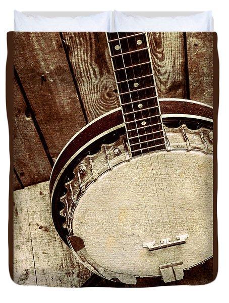 Vintage Banjo Barn Dance Duvet Cover by Jorgo Photography - Wall Art Gallery