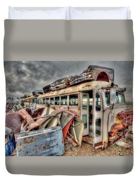 Vintage Bus Duvet Cover