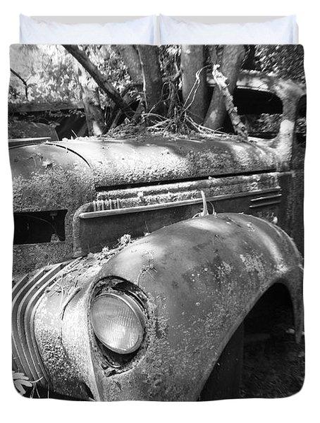 Vintage Car Duvet Cover