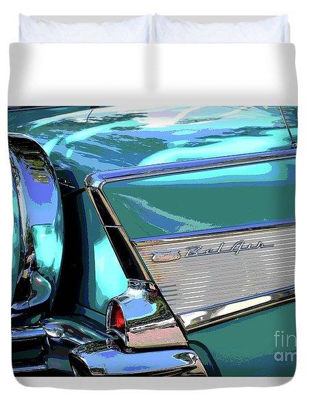 Vintage Chevrolet Belair Duvet Cover