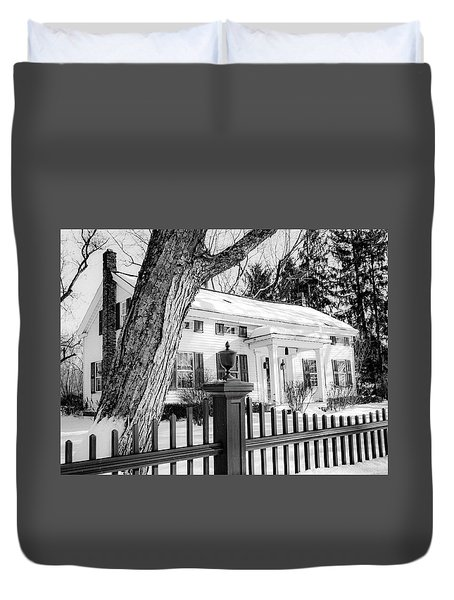 Duvet Cover featuring the photograph Vintage Classic by Kendall McKernon