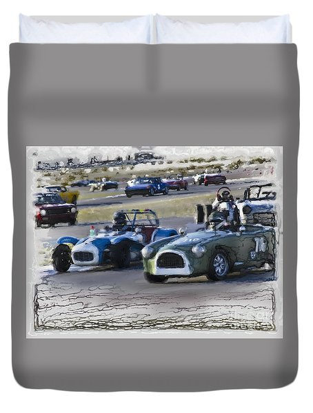 Vintage Competition Duvet Cover
