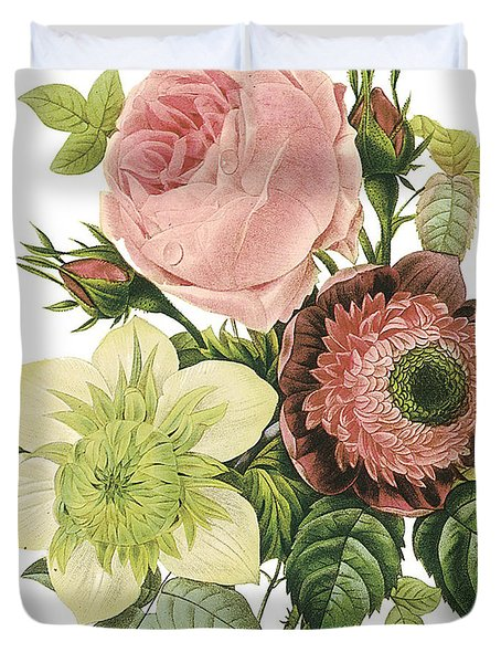 Vintage Flowers 2 Duvet Cover