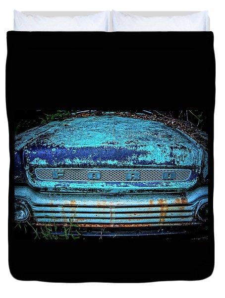 Vintage Ford Pick Up Duvet Cover
