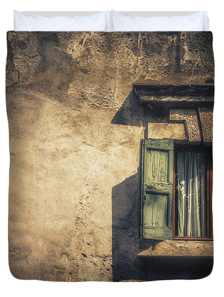 Vintage Frame Duvet Cover