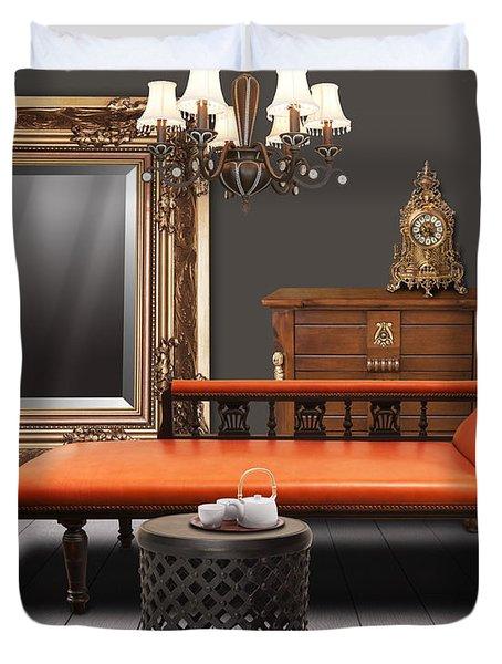 Vintage Furnitures Duvet Cover