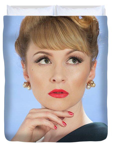 Vintage Glamour Duvet Cover
