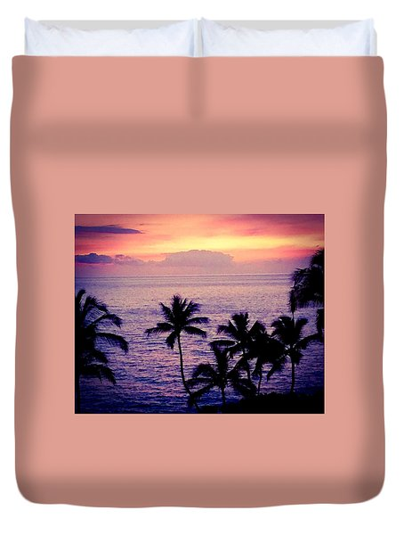 Vintage Hawaii Duvet Cover by Russell Keating