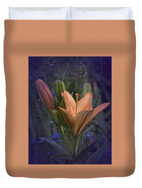 Vintage Lily 2017 No. 2 Duvet Cover