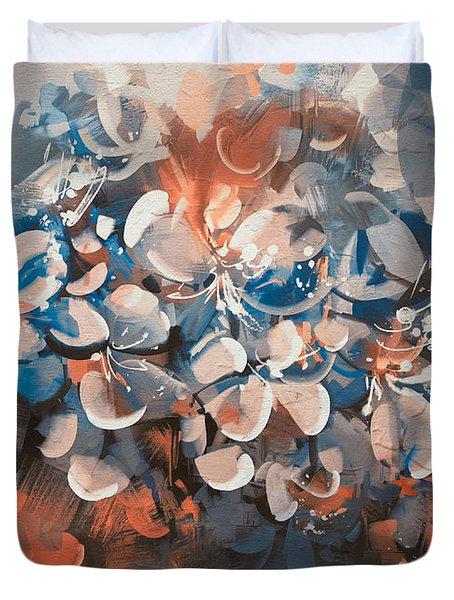 Vintage Petal Duvet Cover