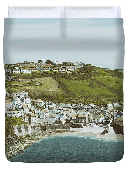 Vintage Port Isaac Duvet Cover