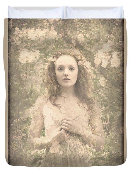 Vintage Portrait Duvet Cover