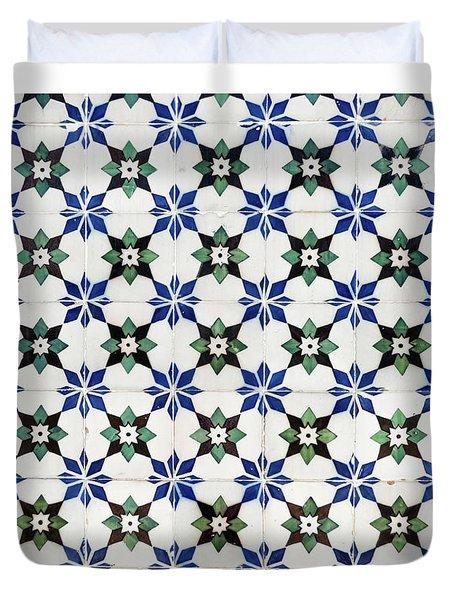 Vintage Portuguese Tiles Duvet Cover