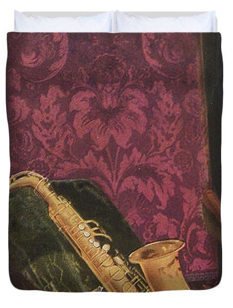Vintage Poster Duvet Cover