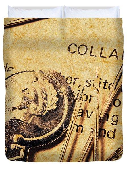 Vintage Quick Stitch Duvet Cover