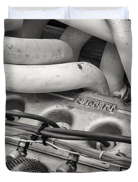 Vintage Racing Duvet Cover