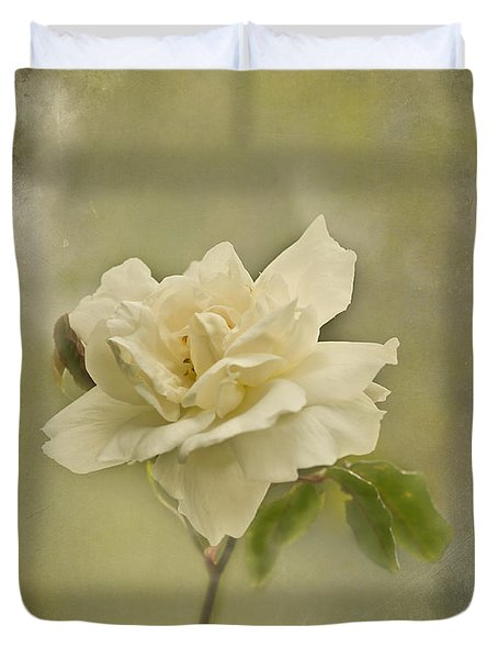 Vintage Rose Duvet Cover