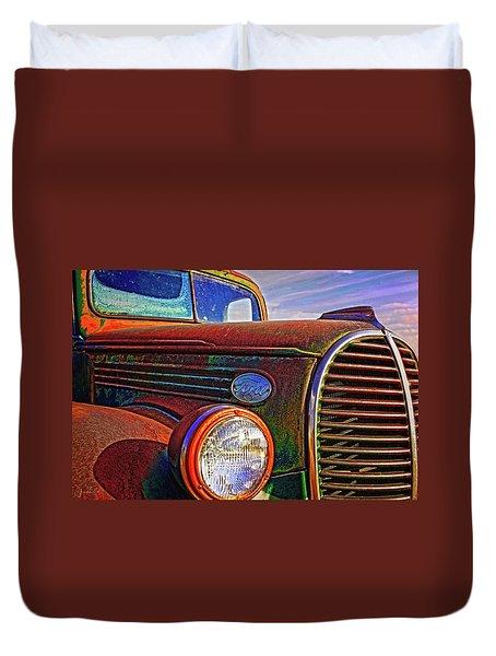 Vintage Rust N Colors Duvet Cover