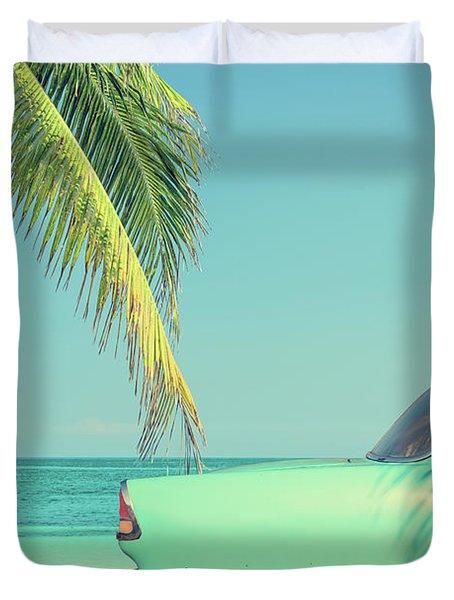 Vintage Summer Duvet Cover