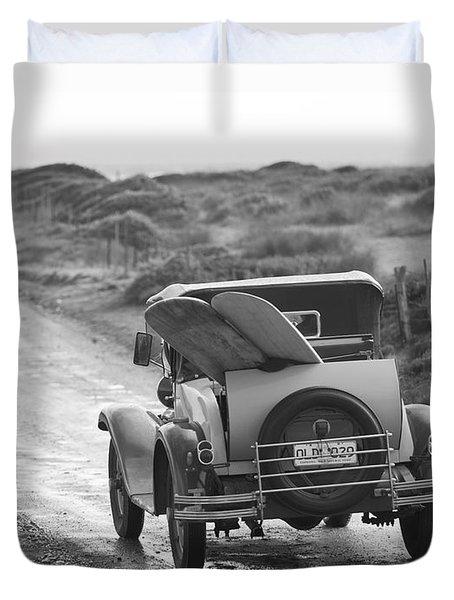Vintage Surf Duvet Cover