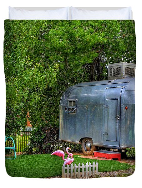 Vintage Trailer Duvet Cover