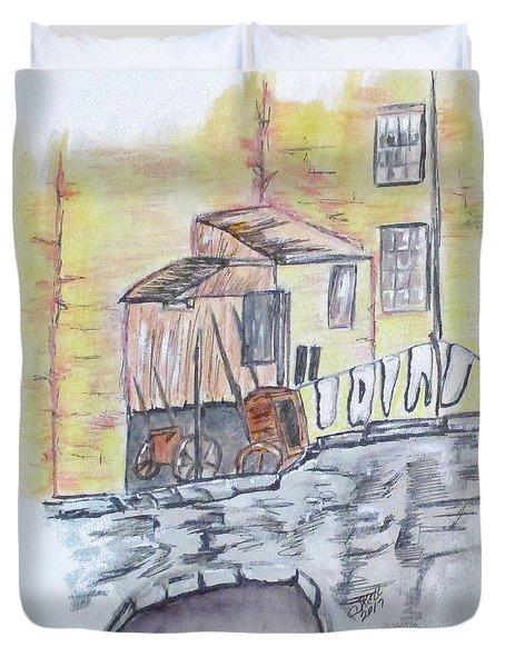 Vintage Wash Day Duvet Cover