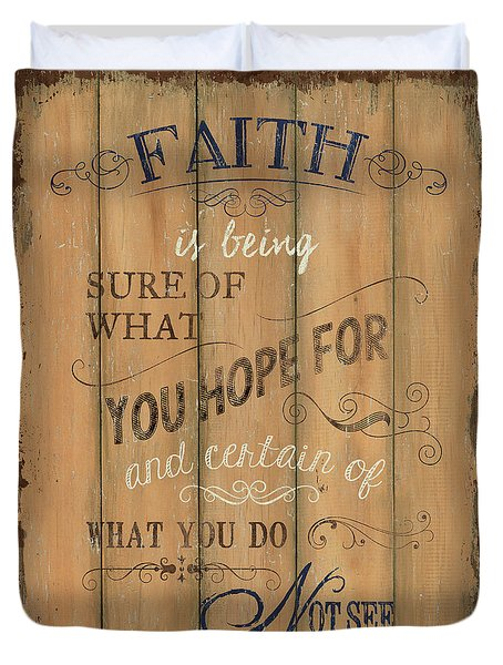 Vintage Wtlb Faith Duvet Cover