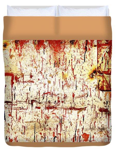 Violent Red Duvet Cover