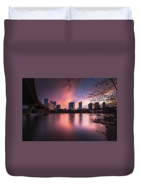 Violet Crown Duvet Cover