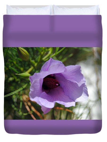 Alyogyne Hakeifolia 2 Duvet Cover