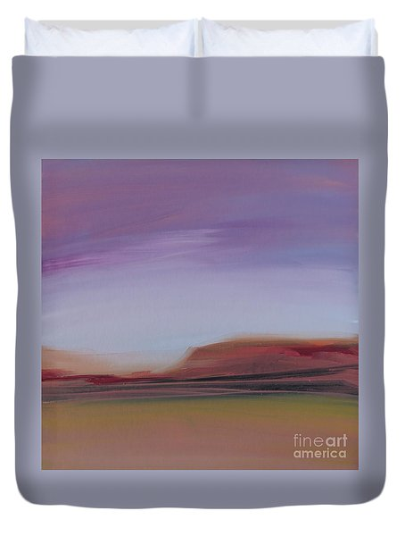 Violet Skies Duvet Cover