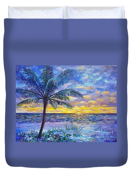 Violet Sunset  Duvet Cover