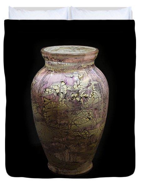Violet Vase Duvet Cover