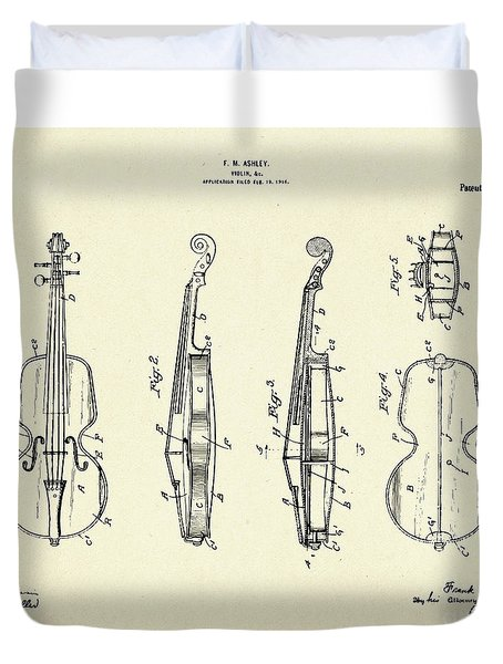 Violin-1921 Duvet Cover