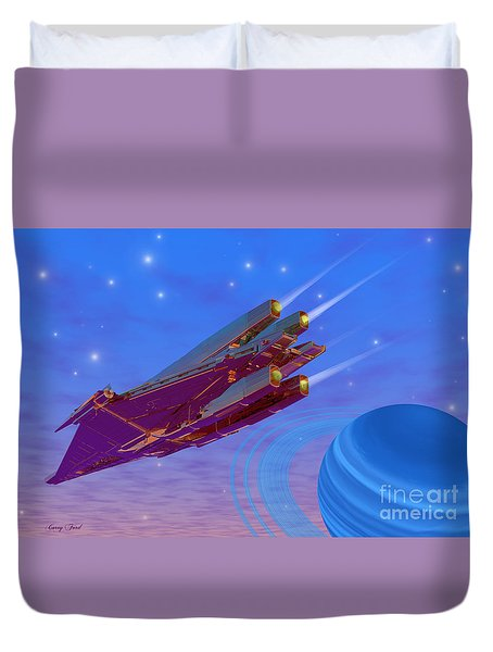 Viper Duvet Cover by Corey Ford