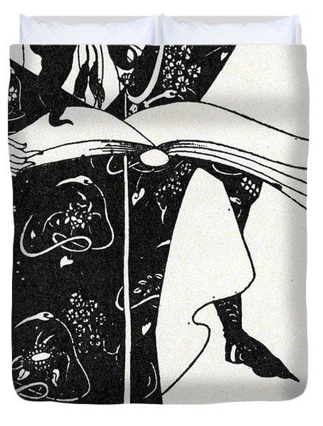 Virgilius The Sorcerer Duvet Cover