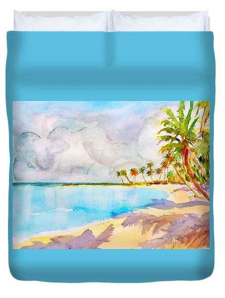 Virgin Clouds Duvet Cover