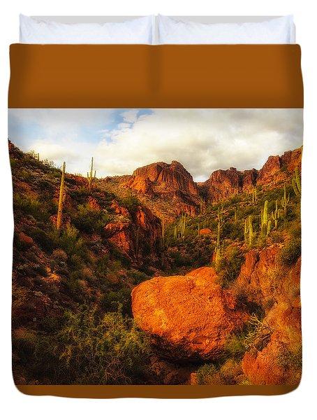 Virgin Desert Duvet Cover